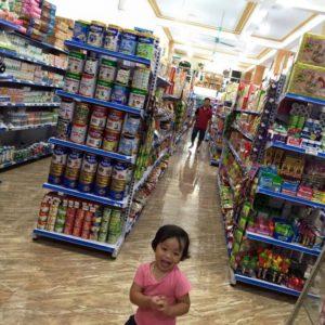 Kệ siêu thị giá rẻ tại Sơn La, Mộc Châu, Phù Yên, Mường La